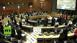 Minuto de silencio en la ONU por la muerte de Vitali Churkin