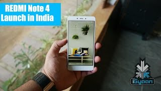Redmi Note 4 Launched in India Hands On First Look