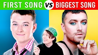 Singers FIRST Songs vs Most POPULAR Songs #1