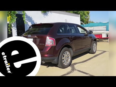 etrailer | Best 2009 Ford Edge Hitch Options
