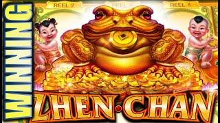 ★WINNING!! ME VS. THE GREENS! 🐸★ ZHEN CHAN & GREEN MACHINE DELUXE Slot Machine Bonus (SG)