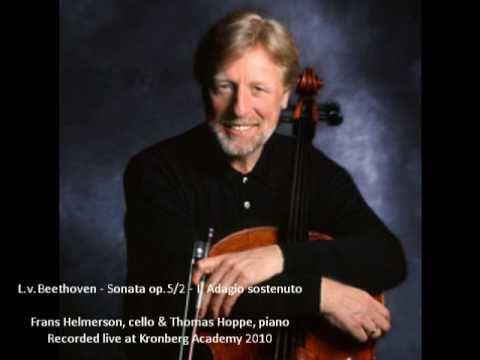 Frans Helmerson, cello & Thomas Hoppe, piano: L.v.Beethoven - Sonata op.5/2 - I. Adagio sostenuto