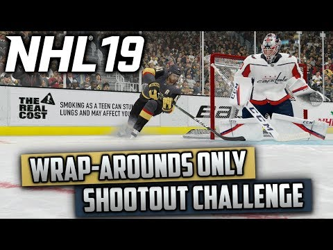 Can I Win a Shootout Using Only Wrap-Arounds? (NHL 19 Challenge)