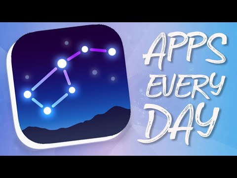 BEST Way To View The Stars, Star Walk 2 | Apps Every Day #47