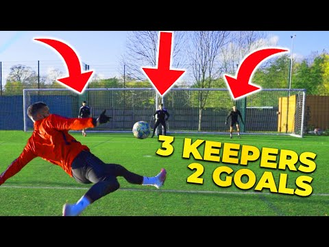 3 KEEPERS 2 GOALS! EPIC F2 SHOOTING BATTLE! 👐🏻🥅👐🏻🥅👐🏻 Thumbnail