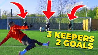 3 KEEPERS 2 GOALS! EPIC F2 SHOOTING BATTLE! 👐🏻🥅👐🏻🥅👐🏻