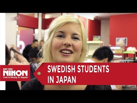 Swedish Student Testimonials at ISI Language School in Tokyo by Go! Go! Nihon