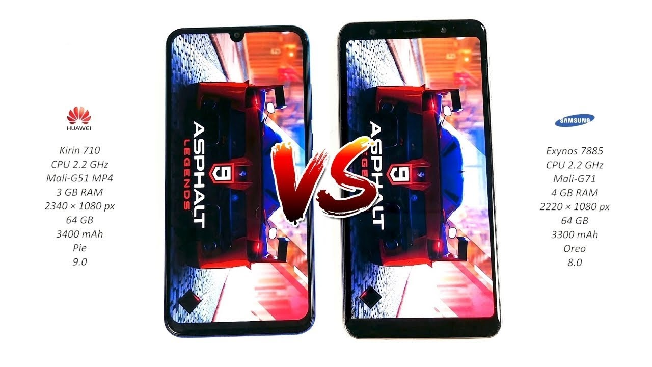 huawei p smart 2019 vs samsung galaxy a7 2018 speed test. Black Bedroom Furniture Sets. Home Design Ideas