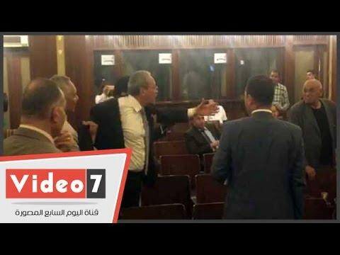 علاء عبد المنعم لمرتضي منصور في البرلمان: أنت بلطجى.. ومنصور: مش هرد عليك هنا