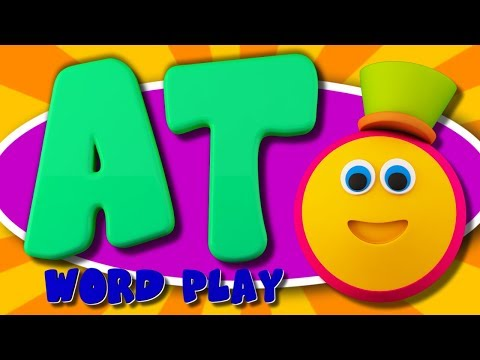 Learning Street With Bob The Train | AT Words | Word Play | Videos For Toddlers by Kids Tv
