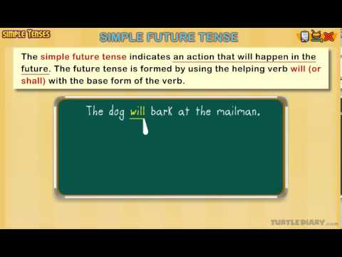 Simple Future Tense - Grammar Lesson for Grade 3 - YouTube