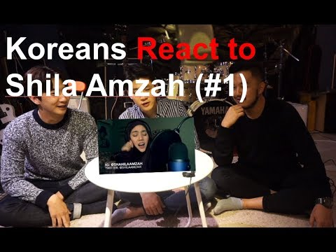 Koreans Guys React to Shila Amzah's