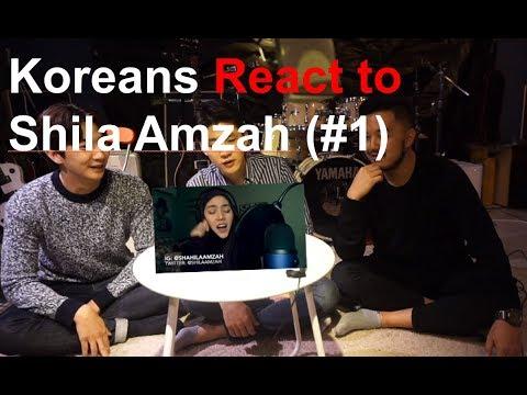 "Koreans Guys React to Shila Amzah's ""LAST DANCE"""
