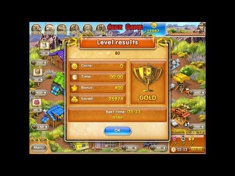 Farm Frenzy 3 American Pie (level 80) Only GOLD Веселая ферма 3 Американский пирог Уровень 80 Золото