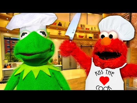 Kermit the Frog and Elmo's Cooking Show! - Kermit's Kitchen