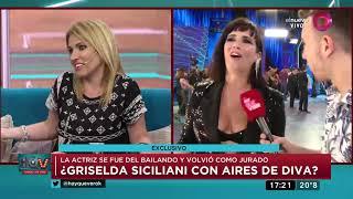 ¿Griselda Siciliana con aires de diva?