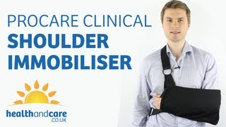 How To Put On A Sling - Procare Clinical Shoulder Immobiliser