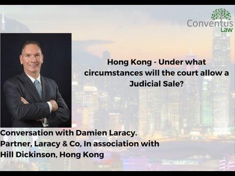 Hong Kong - Under what circumstances will the court allow a Judicial Sale?