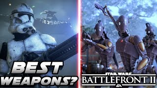 What are the Best Weapons of Each Class in Star Wars Battlefront 2?