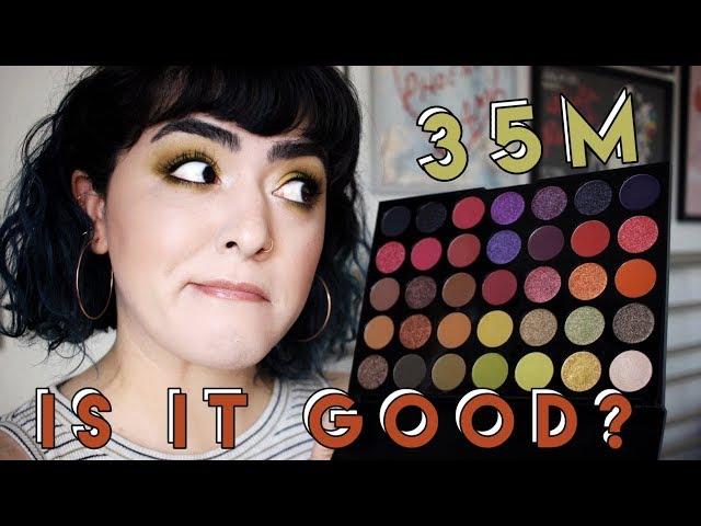 Morphe 35M Boss Mood First Impressions + Tutorial | Laura Neuzeth