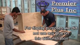 Premier Plus Inc. Cabinet Construction Video