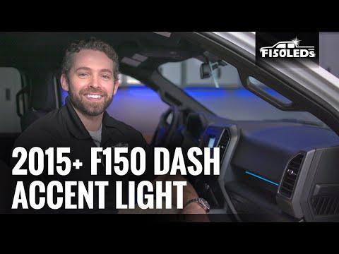 2015+ F150 DASH ACCENT LIGHT INSTALL F150LEDS.com