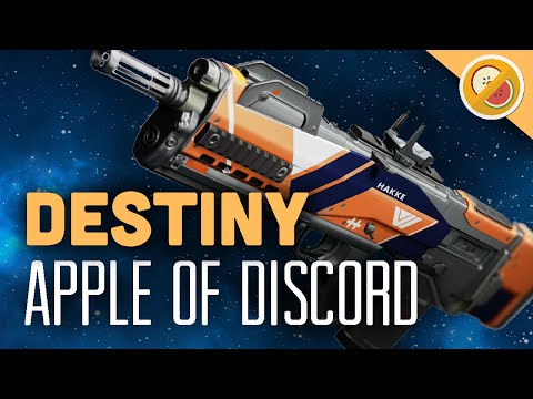 DESTINY Apple of Discord Legendary Pulse Rifle Review (The Taken King)