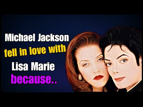 Michael Jackson fell in love with Lisa Marie  Presley because...