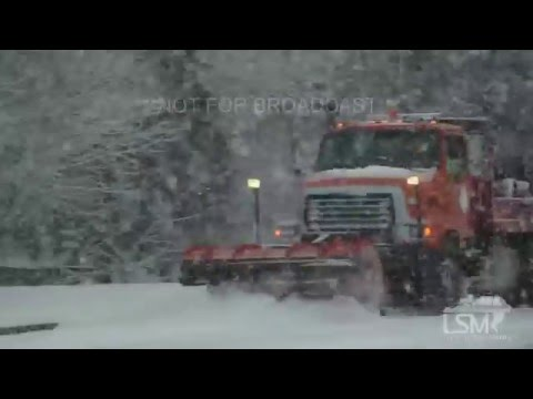 12-24-15 Omaha, Nebraska Major Christmas Eve Snow Storm