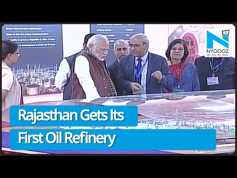 PM Modi inaugurates 1st oil refinery project of Rajasthan
