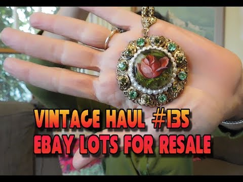 Diggin' with Dirty Girl S8E3 Vintage Haul #135: Ebay Jewelry Lot for Resale