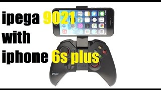 ipega pg-9021 Gamepad connect with iPhone 6s plus iOS 10.2[ NON JAILBREAK ] HD