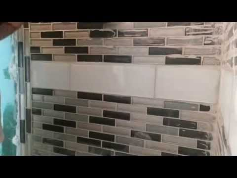 How Clean Grout Off Of Glass Tile YouTube - Best way to clean grout off new tiles