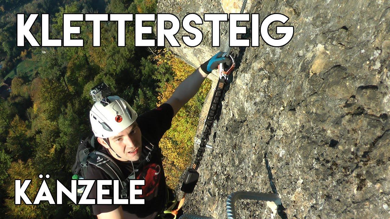 Klettersteig Känzele : Klettersteig känzele in vorarlberg youtube