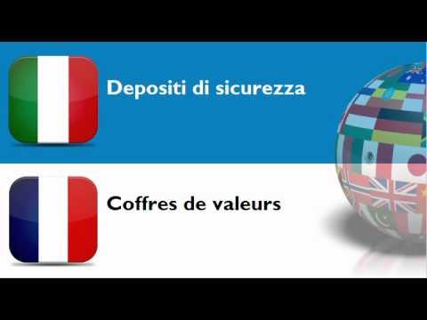 FRANCESE PER ITALIANI = TEMA = Casseforti o cassette di sicurezza e porte blindate o rinforzate