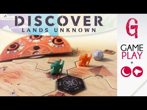 Gameplay Discover   Dispersi nel deserto