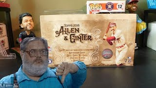 2018 Topps Allen and Ginter Hobby Box