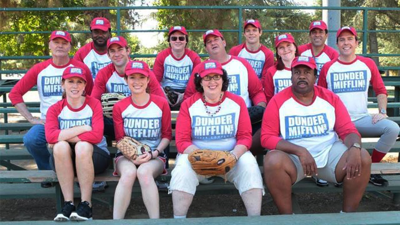 Dunder Mifflin Softball