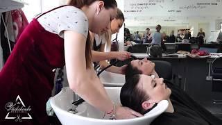 Обучение парикмахеров, Мастер-Класс, отработка Стрижки без правил, Техника стрижки