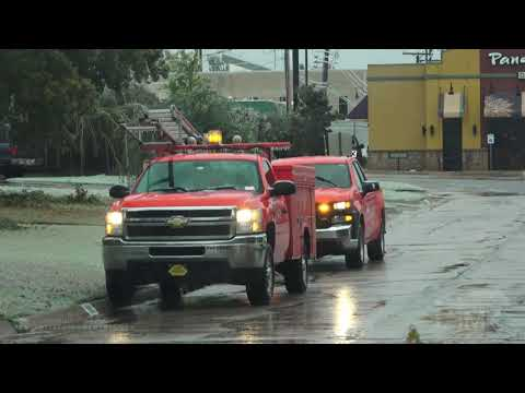10-27-2020 Oklahoma City, OK Catastrophic Ice Storm - Trees Snapping, Crippling Damage And Cleanup