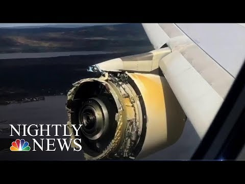 Investigation Launched Into 'Serious' Air France Plane Engine Failure | NBC Nightly News