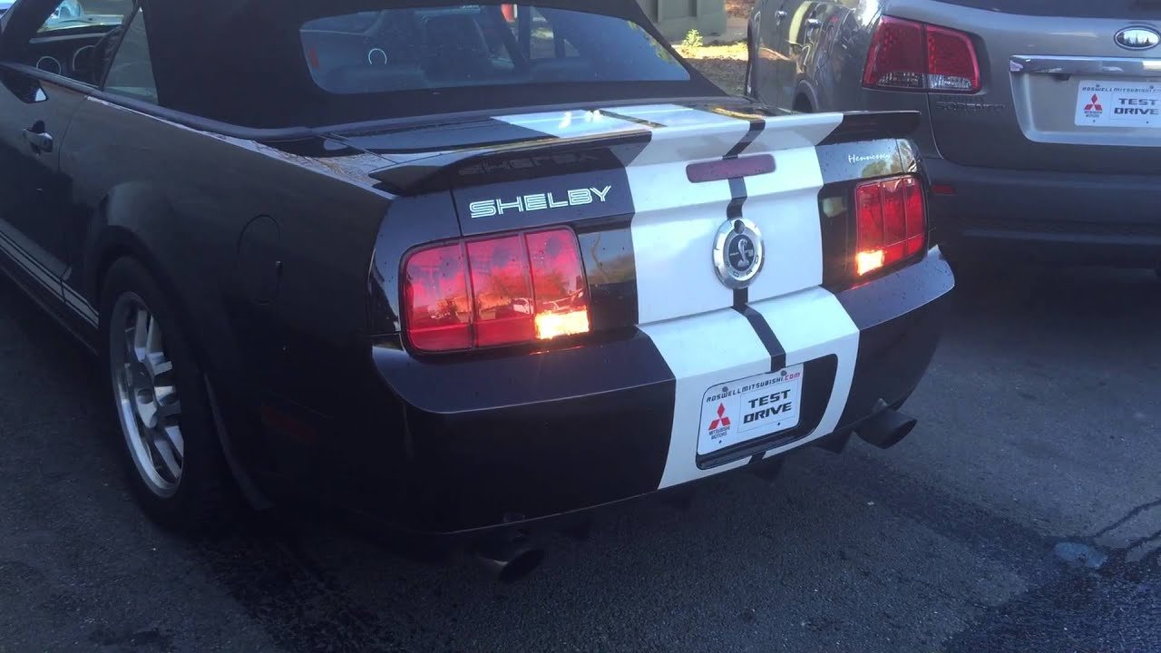 2007 Hennessey Ford Mustang Convertible Shelby GT500 KR750 ...