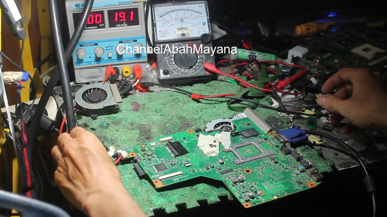 Memperbaiki Toshiba C600 Mati Total Part 2 Youtube