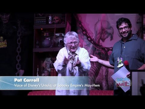 Full Q&A with Pat Carroll, voice of Ursula from The Little Mermaid, at Spooky Empire MayHem 2013