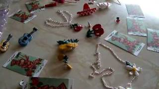 ELAINE MISSTIKI MILES  hand made 1950s rockabilly  jewellery for sale HAWAIIAN TIKI ARTIST 50s