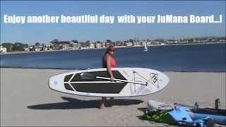 How to Inflate Stand Up Paddle Board SPK Aqua Marina sold by JuMana Boards