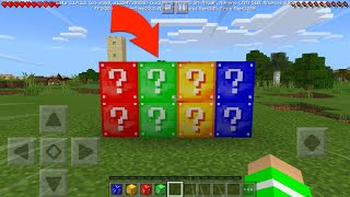 Top Lucky Block for MCPE Addon Similar Apps