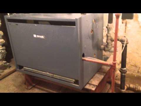 Weil-McLain EGH-95 natural gas steam boiler