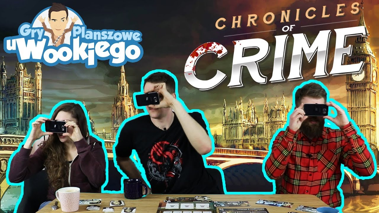 Chronicles of Crime – gra planszowa w VIRTUAL REALITY