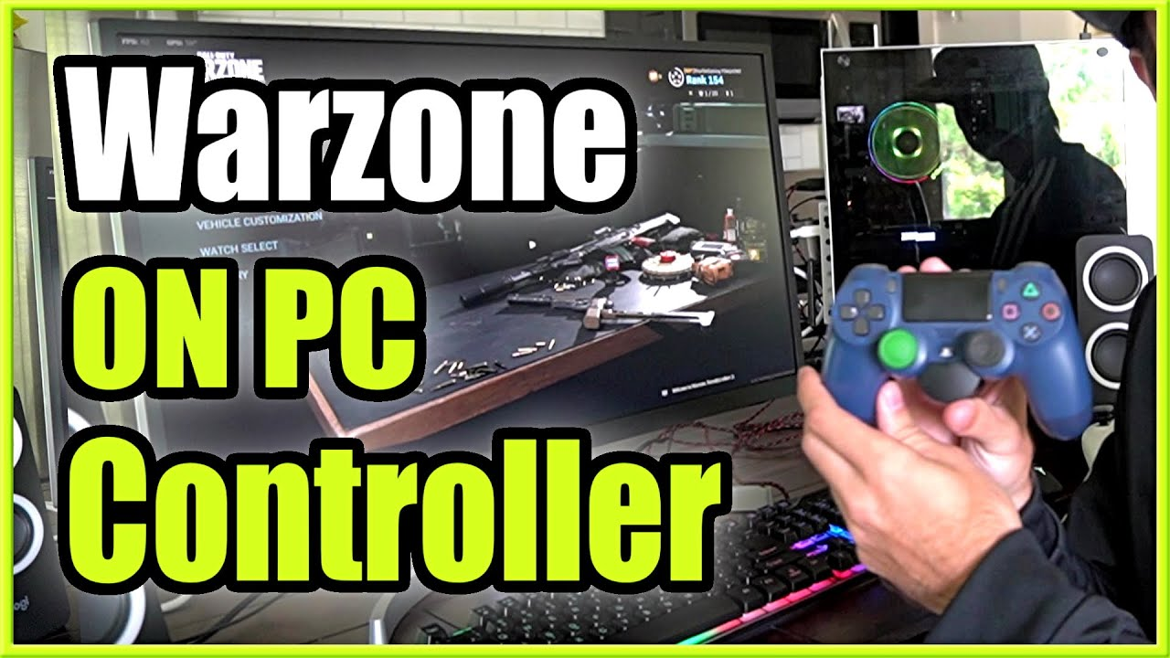 How To Play Call Of Duty Warzone With A Controller On Pc Ps4 Or Xbox Controller Youtube